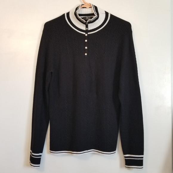 Nils Sportswear Ski Black White Sweater
